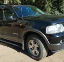 Ford explorer iv 4 0 at 212 л с отзывы